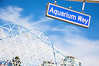 Aquarium Way Street Sign