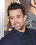 HOLLYWOOD, CA - FEBRUARY 13: Actor Rob McElhenney attends the premiere of Warner Bros. Pictures' 'Fist Fight' at the Regency Village Theatre on February 13, 2017 in Westwood, California.