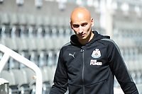 Jonjo Shelvey of Newcastle United arrives during Newcastle United vs Tottenham Hotspur, Premier League Football at St. James' Park on 13th August 2017