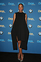 BEVERLY HILLS, CA - FEBRUARY 3: Aisha Tyler in the press room at the 70th Annual DGA Awards at The Beverly Hilton Hotel in Beverly Hills, California on February 3, 2018. <br /> CAP/MPI/FS<br /> &copy;FS/MPI/Capital Pictures