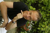 20030604, Paris, Tennis, Roland Garros, Martin Verkerk  op zijn vrije dag in Parijs