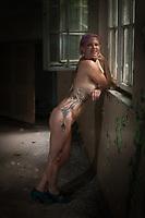 Anja first tattoo shoot for callander