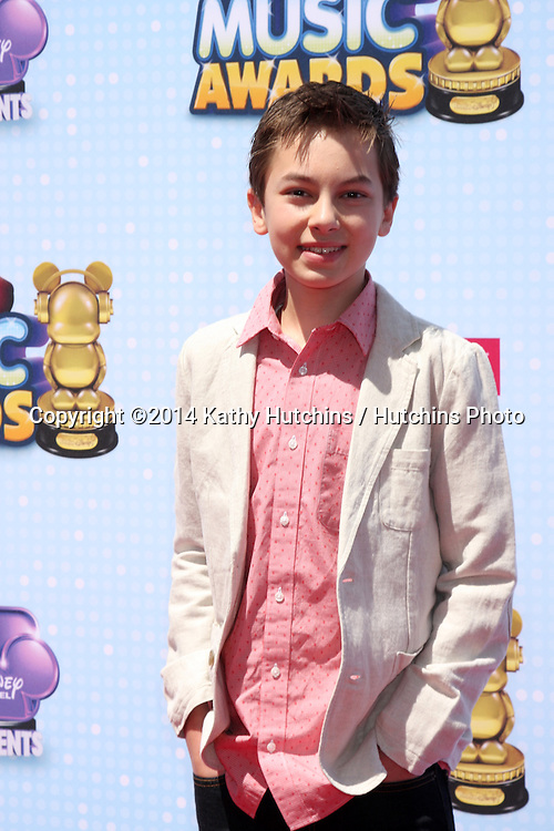 LOS ANGELES - APR 26:  Hayden Byerly at the 2014 Radio Disney Music Awards at Nokia Theater on April 26, 2014 in Los Angeles, CA