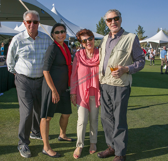 Mark and Ina Katzkatz, Lorraine Liepmano and Steve Myerson during the Art of Childhood Gala and Fundraiser at Montreux Golf and Country Club on Friday, August 24, 2018.