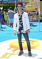Cameron Boyce at the world premiere for &quot;The Emoji Movie&quot; at the Regency Village Theatre, Westwood. Los Angeles, USA 23 July  2017<br /> Picture: Paul Smith/Featureflash/SilverHub 0208 004 5359 sales@silverhubmedia.com
