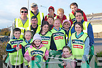 CLEANUP: The group of volunteers who left the town centre on Tuesday to put a sparkle on Listowel for the annual Tidy Town's Clean-up week, which runs until Friday, April 11th.