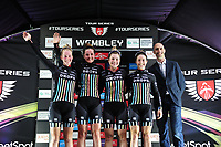Picture by Simon Wilkinson/SWpix.com - 16/05/2017 - Cycling - Tour Series Round 4, Wembley - Matrix Fitness Grand Prix - Drops Cycling are the team winners at the Matrix Fitness womens Grand Prix at Wembley.