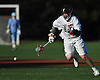 Mac O'Keefe #3 of Syosset chases after a loose ball during a Nassau County varsity boys lacrosse game against Oceanside at Syosset-Woodbury Community Park on Tuesday, Apr. 12, 2016. Syosset won by a score of 18-4.