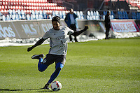Toronto, ON, Canada - Friday Dec. 09, 2016: Tyrone Mears during training prior to MLS Cup at BMO Field.