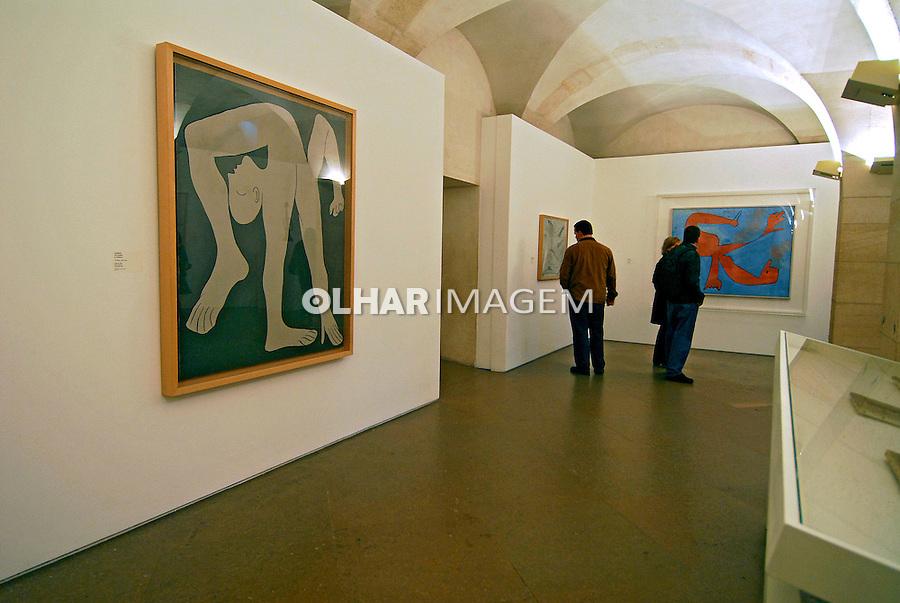 Exposição de pinturas no Museu de Picasso. Paris. França. 2007. Foto de Luciana Whitaker.