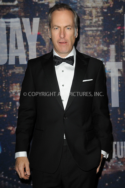 WWW.ACEPIXS.COM<br /> February 15, 2015 New York City<br /> <br /> <br /> Bob Odenkirk walking the red carpet at the SNL 40th Anniversary Special at 30 Rockefeller Plaza on February 15, 2015 in New York City.<br /> <br /> Please byline: Kristin Callahan/AcePictures<br /> <br /> ACEPIXS.COM<br /> <br /> Tel: (646) 769 0430<br /> e-mail: info@acepixs.com<br /> web: http://www.acepixs.com