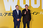 "Leonardo Dicaprio and  Quentin Tarantino attend the Japan premiere for their movie ""Once Upon a Time in Hollywood"" in Tokyo, Japan on August 26, 2019.  The film will be released in Japan on August 30."