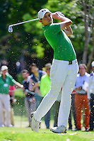 Matt Fitzpatrick (ENG) watches his tee shot on 7 during round 2 of the World Golf Championships, Mexico, Club De Golf Chapultepec, Mexico City, Mexico. 3/3/2017.<br /> Picture: Golffile | Ken Murray<br /> <br /> <br /> All photo usage must carry mandatory copyright credit (&copy; Golffile | Ken Murray)