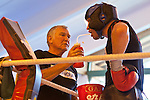23.08.2011, Stanglwirt, Going, AUT, Vitali Klitschko, Training, im Bild Trainer Fritz Sdunek und Vitali Klitschko // during a trainingssession at Hotel Stanglwirt in Going, Austria on 23/8/2011. EXPA Pictures © 2010, PhotoCredit: EXPA/ J. Groder