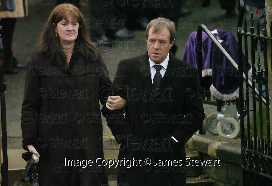 30/11/2007      Copyright Pic: James Stewart.File Name : sct_jspa12_hamilton_funeral.VICKY HAMILTON'S FATHER, MICHAEL, LEAVES  REDDING & WESTQUARTER PARISH CHURH, REDDING, FALKIRK....James Stewart Photo Agency 19 Carronlea Drive, Falkirk. FK2 8DN      Vat Reg No. 607 6932 25.Office     : +44 (0)1324 570906     .Mobile   : +44 (0)7721 416997.Fax         : +44 (0)1324 570906.E-mail  :  jim@jspa.co.uk.If you require further information then contact Jim Stewart on any of the numbers above.........