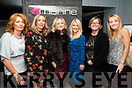 Food Meets Fashion: pictured at the Food meets Fashion event in aid of St. Vincent de Paul at the Marine Hotel, Ballybunion were the sponsors & models of the event Mairead Halpin Mulvihill, Karina Bennett, Nuala Keane, Helena Keane, Jennifer Scanlon & Sarah Blake.