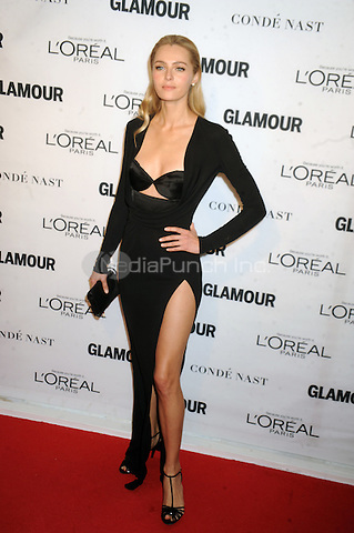 Valentina Zelyaeva attends Glamour's 25th Anniversary Women Of The Year Awards at Carnegie Hall   on November 9, 2015. Credit: Dennis Van Tine/MediaPunch