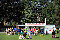 A general view of the Canterbury Roadshow. Bath Rugby Family Festival of Rugby, on August 8, 2015 at the Recreation Ground in Bath, England. Photo by: Patrick Khachfe / Onside Images