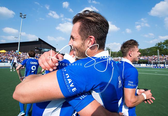 UTRECHT -  Martijn Havenga (Kampong)   na  de finale van de play-offs om de landtitel tussen de heren van Kampong en Amsterdam (3-1).   COPYRIGHT KOEN SUYK