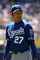 May 24th 2009:  Relief pitcher Yashuhiko Yabuta (27) of the Kansas City Royals during a game at the Rogers Centre in Toronto, Ontario, Canada .  Photo by:  Mike Janes/Four Seam Images