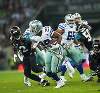 09.11.2014.  London, England.  NFL International Series. Jacksonville Jaguars versus Dallas Cowboys. Cowboys' DeMarco Murray (#29)