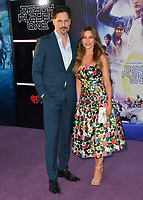 Sofia Vergara &amp; Joe Manganiello  at the premiere for &quot;Ready Player One&quot; at The Dolby Theatre, Los Angeles, USA 26 March 2018<br /> Picture: Paul Smith/Featureflash/SilverHub 0208 004 5359 sales@silverhubmedia.com