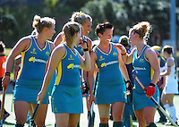 141116 International Women's Hockey - NZ Black Sticks v Australia Hockeyroos