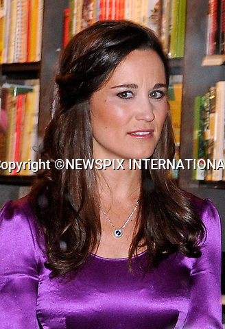"Haarlem, Holland; 11-12-2-12: PIPPPA MIDDLETON.""In Purple"" at the launch of the Dutch edition of her book ""Celebrate"" at H. de Vries Boeken, Haarlem, Netherlands. The part book by the sister of Kate Middleton appears to have bombed elsewhere and are hitting the bargain bins..Mandatory Credit Photo: ©NEWSPIX INTERNATIONAL..**ALL FEES PAYABLE TO: ""NEWSPIX INTERNATIONAL""**..IMMEDIATE CONFIRMATION OF USAGE REQUIRED:.Newspix International, 31 Chinnery Hill, Bishop's Stortford, ENGLAND CM23 3PS.Tel:+441279 324672  ; Fax: +441279656877.Mobile:  07775681153.e-mail: info@newspixinternational.co.uk"
