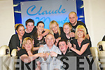 CHAMPAGNE: Champagne at Claude Monte Barber Shop, The Square, Tralee, on Saturday as they celebrated their 23rd Anniversary. Front l-r: Ann Fenix, Joe and Darryl Vesey. Back l-r: Lisa Ryan, Ken O'Mahony, Avril Vesey, Sharon Lawson, Stephanie Kerins, Eamon Smith and Geraldine O'Sullivan..