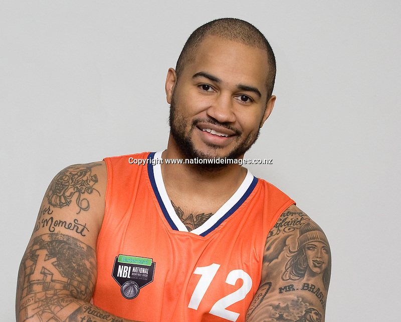 Head shot of  Shark's Kevin Braswell for the NBL season 2013,Stadium Southland, Invercargill, New Zealand, Friday, April 26, 2013. Credit:NINZ/Dianne Manson