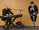 Justin Paul and Benj Pasek during An Evening Of Legacy, Philanthropy & Music For The Benefit Of The Dramatists Guild Foundation at Morgan Stanley Headquarters on May 13, 2019 in New York City.