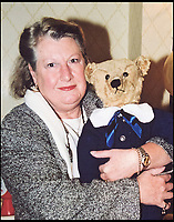 BNPS.co.uk (01202 558833)<br /> Pic: SAS/BNPS<br /> <br /> Collector Yvonne Crompton.<br /> <br /> One woman's epic collection of more than 600 teddy bears is expected to fetch &pound;40,000 when it goes under the hammer.<br /> <br /> The late Yvonne Crompton amassed 635 bears, as well as teddy ornaments and pictures, over 50 years of collecting and had many limited edition models.<br /> <br /> Her vast collection filled a whole room from floor-to-ceiling at her five-bedroom family home in Wimbledon, south west London.<br /> <br /> Mrs Crompton spent decades scouring car boot sales, antique fairs and specialist exhibitions for her bears, which her husband Rufus would also often buy her as presents.