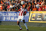 05 June 2012: Chivas USA's James Riley. The Carolina RailHawks (NASL) lost 1-2 to Club Deportivo Chivas USA (MLS) at WakeMed Soccer Stadium in Cary, NC in a 2012 Lamar Hunt U.S. Open Cup fourth round game.