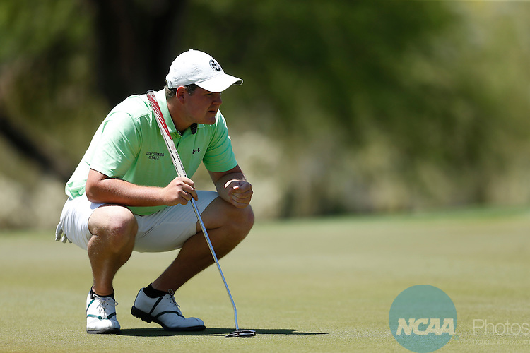 23 APR 2016: The 2016 Mountain West Men's Golf Championship is held at the Omni Tucson National Resort in Tucson, AZ. Trevor Brown Jr./NCAA Photos