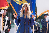 May 28th Indianapolis Speedway, Indiana, USA;  Bebe Rexha singing the national anthem prior to the 101st Indianapolis 500 on May 28, 2017, at the Indianapolis Motor Speedway in Indianapolis, Indiana.