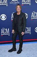 07 April 2019 - Las Vegas, NV - Keith Urban. 2019 ACM Awards at MGM Grand Garden Arena, Arrivals. Photo Credit: mjt/AdMedia