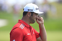 Jon Rham (ESP) on the 1st fairway during Round 4 of the HNA Open De France at Le Golf National in Saint-Quentin-En-Yvelines, Paris, France on Sunday 1st July 2018.<br /> Picture:  Thos Caffrey | Golffile