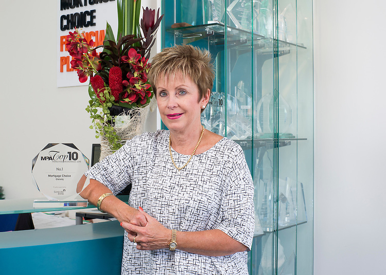 Wendy Higgins Mortgage choice Glenelg. Photo: Nick Clayton