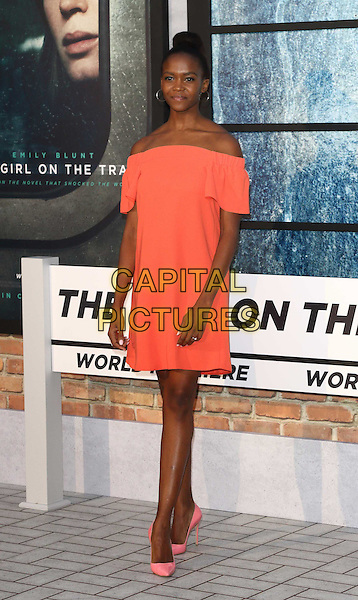 Oti Mabuse at The Girl on the Train - world film premiere at the Odeon Leicester Square. London on September 20th 2016<br /> CAP/ROS<br /> &copy;Steve Ross/Capital Pictures