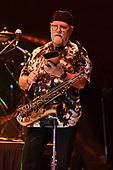 MIAMI, FL - FEBRUARY 09: Scott Martin of WAR performs at The Magic City Casino on February 9, 2019 in Miami, Florida. Credit Larry Marano © 2019