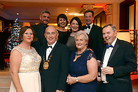 Pictured  at the IHF Ball in the Muckross Park Hotel at the weekend were in front, Ailish and Terence Mulcahy, Frankie and Sean Coyne. At back, Brian O'Shea, Lynda Coyne, Tanya Coyne and Donal Culloty all from The International Hotel, Killarney.<br /> Photo: Don MacMonagle<br /> <br /> Repro free photo