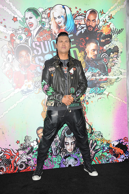 www.acepixs.com<br /> August 1, 2016  New York City<br /> <br /> Adam Beach attending the world premiere of Warner Bros. Pictures and Atlas Entertainment&rsquo;s 'Suicide Squad' at the Beacon Theatre on August 1, 2016 in New York City.<br /> <br /> <br /> Credit: Kristin Callahan/ACE Pictures<br /> <br /> <br /> Tel: 646 769 0430<br /> Email: info@acepixs.com
