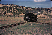 D&amp;RGW #478 at Gato.<br /> D&amp;RGW  Gato (Pagosa Junction), CO