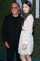 BEVERLY HILLS, CA, USA - OCTOBER 02: Michael Kors, Hailee Steinfeld arrive at Michael Kors Launch Of Claiborne Swanson Franks's 'Young Hollywood' Book held at a Private Residence on October 2, 2014 in Beverly Hills, California, United States. (Photo by Xavier Collin/Celebrity Monitor)