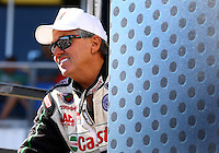 Sept. 22, 2013; Ennis, TX, USA: NHRA funny car driver John Force during the Fall Nationals at the Texas Motorplex. Mandatory Credit: Mark J. Rebilas-