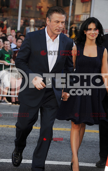 HOLLYWOOD, CA - NOVEMBER 04: Alec Baldwin and Hilaria Thomas arrive at the premiere of 'Rise of the Guardians' during the 2012 AFI Fest presented by Audi at Grauman's Chinese Theatre on November 4, 2012 in Hollywood, California.PAP1112JP299.PAP1112JP299.