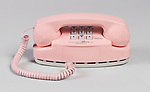 Signature Princess Telephone, 1993; Designed by Henry Dreyfuss Associates (United States); USA; molded plastic, metal; H x W x D: 10.5 x 21.5 x 10 cm (4 1/8 x 8 7/16 x 3 15/16 in.); Gift of AT&amp;T; 1994-50-1; Cooper Hewitt, Smithsonian Design Museum. <br />