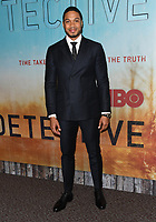 """10 January 2019 - Hollywood, California - Ray Fisher. """"True Detective"""" third season premiere held at Directors Guild of America.   <br /> CAP/ADM/BT<br /> ©BT/ADM/Capital Pictures"""