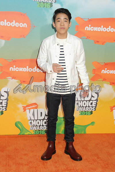 12 March 2016 - Inglewood, California - Lance Lim. 2016 Nickelodeon Kids' Choice Awards held at The Forum. Photo Credit: Byron Purvis/AdMedia