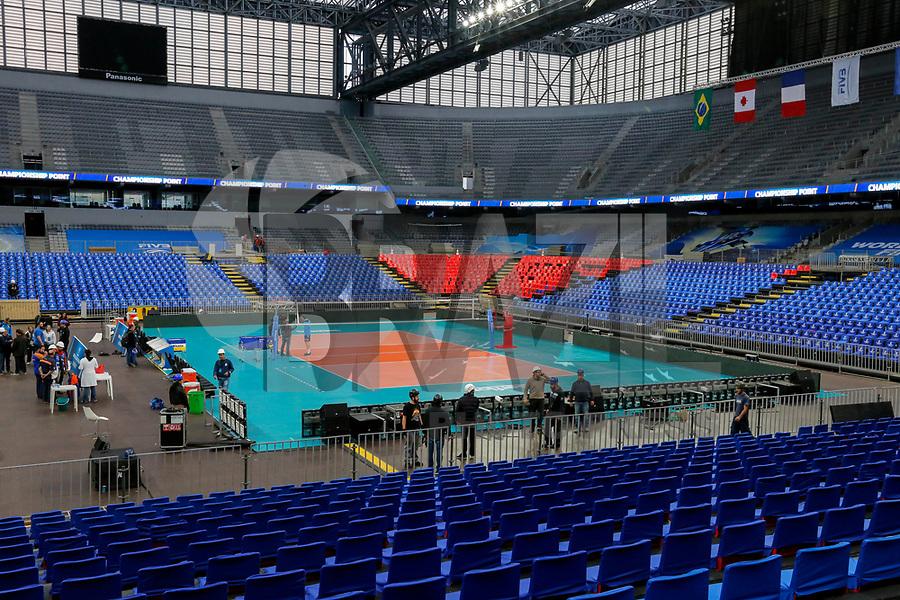 CURITIBA,PR, - 02.07.2017 – LIGA MUNDIAL-PR –  Vista da Arena da Baixada, local dos jogos finais da liga mundial de vôlei em Curitiba (PR), neste domingo (02). (Foto: Paulo Lisboa/Brazil Photo Press)